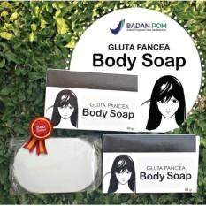 Gluta Pancea Body Soap BPOM - Sabun Gluta Pemutih Badan BPOM - 80gr