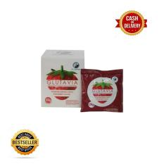 Glutavia Rasa Strawberry Original 100 200Gr Jawa Barat Diskon 50