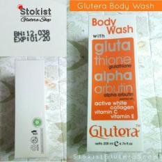 Spesifikasi Glutera Body Wash 200 Ml Original Terbaik