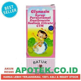 Pencari Harga Glynasin Sirup Cair 60 ml - Obat Sakit Demam Flu Batuk Anak terbaik murah