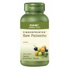 Gnc Herbal Plus Fingerprinted Saw Palmetto 90 Kapsul 470767 Di Dki Jakarta