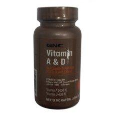 Dapatkan Segera Gnc Vitamin A D 100 Kapsul Lunak