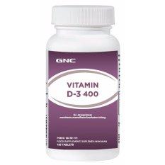 GNC Vitamin D-3 400 - 100 tablet (144922)