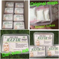 Jual Goat Milk Kefir Mask By Syb Masker Kefir Original 1 Box Isi 15 Sachet Murah Indonesia