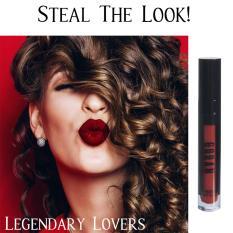 Toko Goban Cosmetics Melted Matte Lip Cream Legendary Lovers 4 5Gr Burgundy Red Goban Cosmetics