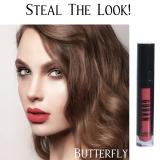Jual Goban Lipstick Melted Matte Lip Cream Butterfly 4 5Gr Coral Pink Antik