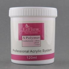 Toko Jual Gogostore 120G Acrylic Crystal Nail Powder Nail Polish Nail Art Tips Builder Polymer Pink Intl