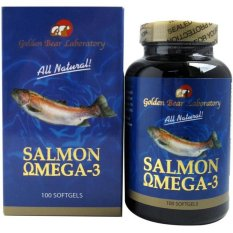 Jual Golden Bear Salmon Omega 1000Mg 100S Branded Murah