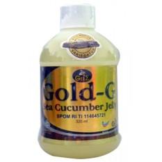 Promo Gold G Herbal Jelly Gamat Sea Cucumber 320Ml Murah