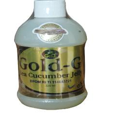 Toko Gold G Herbal Jelly Gamat Sea Cucumber 350 Ml Lengkap