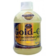 Gold G Herbal Jelly Gamat Sea Cucumber 500Ml Terbaru