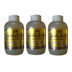Jual Gold G Herbal Jelly Gamat Sea Cucumber 500Ml 3 Botol Online Di Jawa Barat