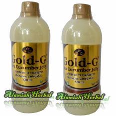 Review Tentang Gold G Jelly Gamat Cucumber Jelly Ekstrak Gamat Teripang Emas 500 Ml Paket 2Pcs