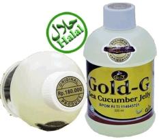 Jual Gold G Paket 3 Botol Jelly Gamat Original 320 Ml Baru