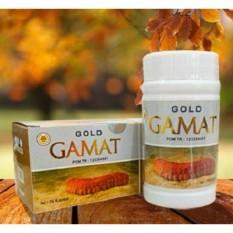 Gold Gamat Plus Kapsul Ekstrak Gamat Emas BPOM - 75 Kapsul