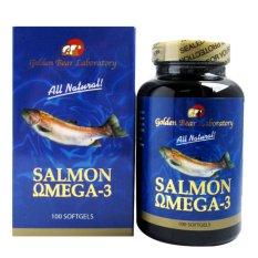 Review Golden Bear Salmon Omega 3 100 S Suplemen Jantung Kolesterol Hipertensi Darah Tinggi Minyak Ikan Fish Oil Nyeri Sendi Dha Jawa Timur