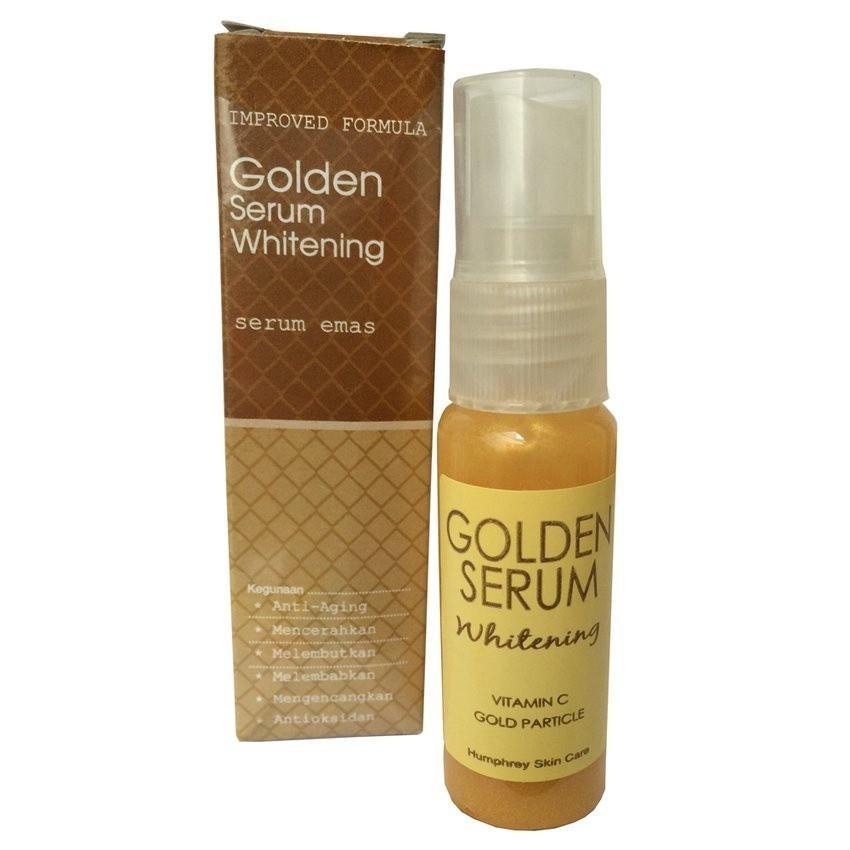 Beli sekarang Golden Serum Whitening Serum Emas terbaik murah - Hanya Rp20.953