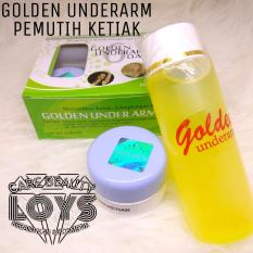 Golden Under Arm 6 Days - Pemutih Ketiak - Golden Underarm ORIGINAL