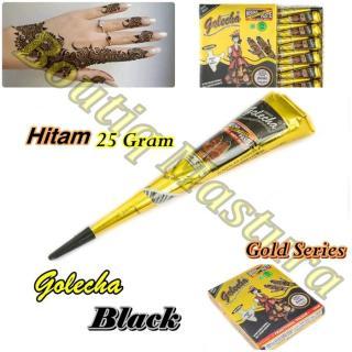 Golecha Henna Black Hitam Gold Series Mahendi thumbnail