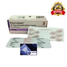 GoShop Obat Jerawat Ampuh Roaccutane 10 mg by Roche 1 Strip isi 10 Capsul
