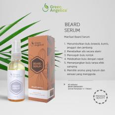 Jual Green Angelica Beard Serum Penumbuh Jambang Jenggot Kumis Alis Brewok Alami Telah Bersetifikat Bpom Murah