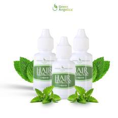 Promo Green Angelica Hair Removal Isi 3 Botol Perontok Bulu Penghilang Bulu Badan Alami Permanen 100 Ori Green Angelica