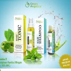 Green Angelica Memperbaiki Rambut Rusak Efektif Menumbuhkan Rambut Cepat