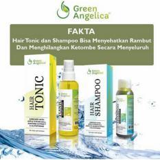 Beli Green Angelica Paket Combo 2 Hairtonic Hair Shampoo Penumbuh Rambut Cepat 100 Ori Murah