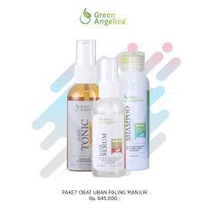 Beli Green Angelica Paket Maksimal Penghitam Rambut Uban Alami Dan Permanen Tanpa Semir Bpom Green Angelica Dengan Harga Terjangkau