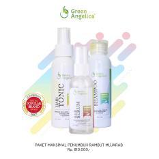Harga Green Angelica Paket Maksimal Penumbuh Rambut Cepat Terbukti 100 Original Bpom Origin
