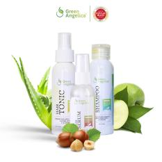 Promo Green Angelica Paket Maksimal Treatment Obat Penumbuh Rambut Botak Ampuh Green Angelica Terbaru