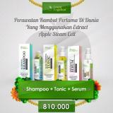 Review Green Angelica Paket Maximal Penumbuh Rambut Hairtonic Hair Serum Hair Shampo 100 Original Terbaru