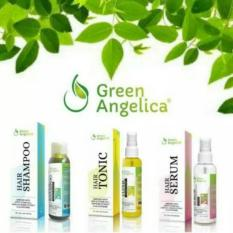Diskon Green Angelica Paket Maximal Penumbuh Rambut Hairtonic Serum Shampo 100 Ori