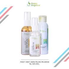 Spesifikasi Green Angelica Paket Penghitam Uban Maksimal Hair Tonic Variant Grey Hair Serum Hair Shampo Dan Harganya