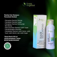 Green Angelica Shampo Rontok Cegah Botak Dan Mengatasi Rambut Rontok Berlebih