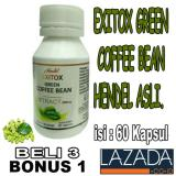 Green Coffee Bean Isi 60 Exitox Green Coffee Bean Asli Jawa Tengah Diskon
