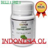 Green Coffee Bean Obat Pelangsing Badan Alami 30 Kapsul Jawa Tengah Diskon 50