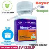 Jual Green World Sleep Care Obat Tidur Lengkap