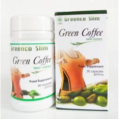 Greenco Slim Green Coffee Bean Extract - Isi 30 kapsul Hendel Exitox Leptin