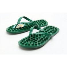 Griyaazza - Sandal Kesehatan Refleksi Akupuntur Ukuran L - Hijau