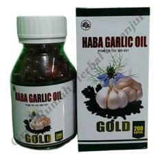 Spesifikasi Habba Garlic Oil Gold Bawang Putih Isi 200 Kapsul Merk Habbatusauda