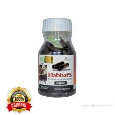 HABBAT'S HABBATUSSAUDAMURNI / SERBUK 200 KAPSUL - PROMIL REKOMENDASI SPESIALIS KANDUNGAN