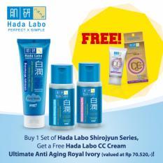 Berapa Harga Hada Labo Shirojyun Free Gift Cc Cream Di Jawa Barat
