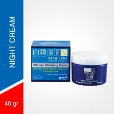 Hada Labo Shirojyun Ultimate Whitening Cream 40 gr