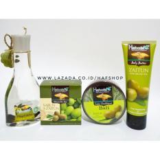 Spesifikasi Hafshop Herborist Paket Zaitun Series