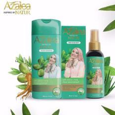 Hafshop Paket Azalea Hijab Hair Perawatan Rambut Hijabers Shampoo - Mist Natur 80 ml