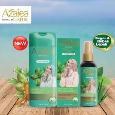 Hafshop Paket Azalea Hijab Hair Shampoo - Mist Natur 80 ml