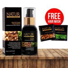 Harga Hafshop Natur Hair Serum Perawatan Rambut Intensif Natur Terbaik