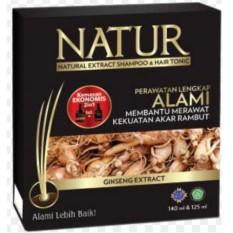 Hafshop Natur Kemasan EKonomis Natural Extract Shampoo Sampo + Hair Tonic