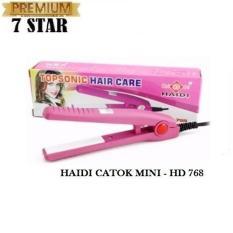 Haidi Catokan Mini Pelurus Rambut HD 768 - Pink
